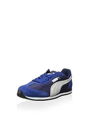 PUMA Women's Rio Speed Sneaker (Peacoat/Limoges)