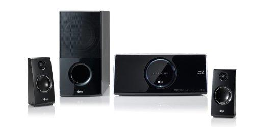 LG Heimkino-Anlage HB45R 400W Upscaling 1080p 2.1 Dolby Digital + Dolby True HD DTS HD MA Netcast USB