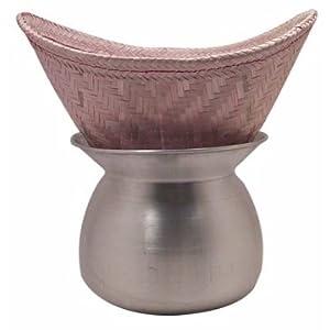 Sticky Rice Steamer Pot and Basket