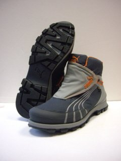 Puma HAGFORS GTX Herren-Freizeitstiefel GORE-TEX, india ink/bu.orange/ntr.gry, Gr.45 (UK10.5)