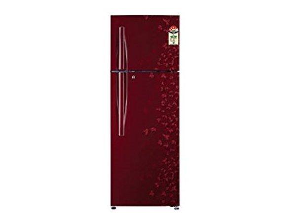 LG GL-D322RPJL Frost-free Double-door Refrigerator (310 Ltrs, 4 Star Rating, Wine Gardenia)