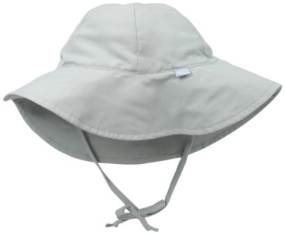 i-play-Baby-Brim-Sun-Protection-Hat-Gray-0-6-months