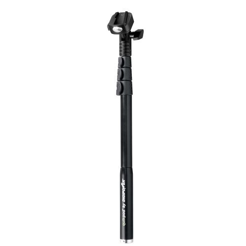 Portable, DigiPower TP-QPXT Quikpod Extreme Monopod and accessories (Silver/Black) Consumer Electronic Gadget Shop