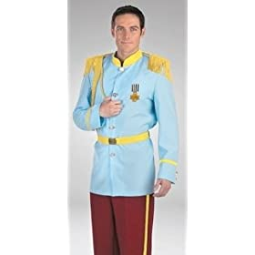 Mens Halloween Costumes Licensed Disneys Cinderellas Prince Charming Costume Theme Party Outfit