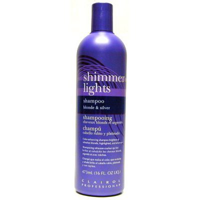 ms clairol hair color clairol shimmer lights shampoo blonde silver 16 oz