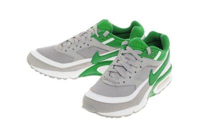 Nike Air Classic BW Textile Freizeitschuh Herren Farbe: grau/grün/weiß, Größe: 40.5