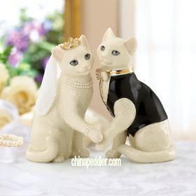 LENOX TOGETHER FOREVER CAT BRIDE Amp GROOM NEW
