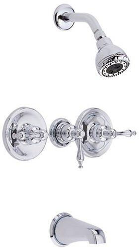 danze d500255 sheridan three handle tub and shower faucet chrome unooooonazaazz