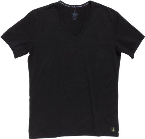 Calvin Klein Underwear CK ONE - Cotton Stretch 2 Pack V-Neck U8511A Herren Unterwäsche/ Unterhemden