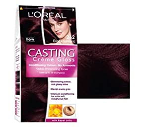 l oreal paris casting creme gloss hair colour 262 blackcurrant beauty