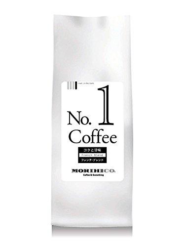 モリヒコ ブレンド コーヒー No.1 深煎り ドリップ挽き 森彦 自家焙煎 フレンチ (200g)