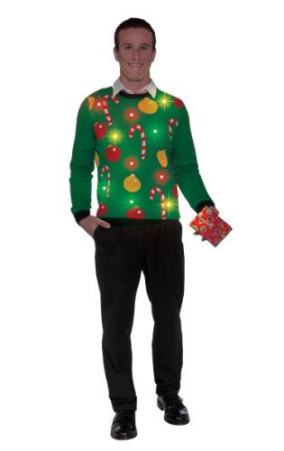 Forum Novelties Light-Up Ugly Christmas Sweater
