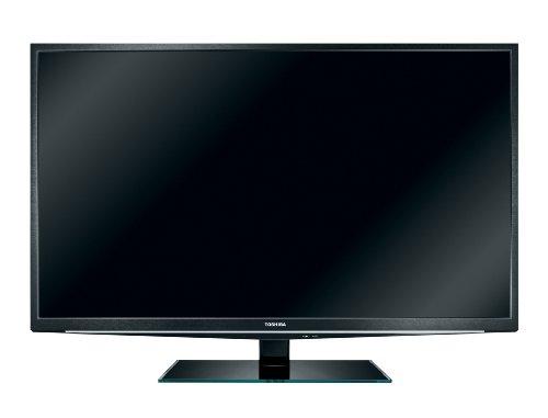 Toshiba 40TL838G 102 cm (40 Zoll) 3D LED-Backlight-Fernseher, Energieeffizienzklasse A (Full-HD, 200Hz AMR, DVB-T/-C, CI+, HBBTV) schwarz