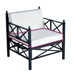 Medici Loungesessel Sitzkissen Farbton Sand - MBM Gartenmöbel