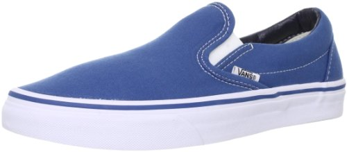 [バンズ] VAN スニーカー Classic Slip-On VN-0EYENVY Navy(Navy/8)