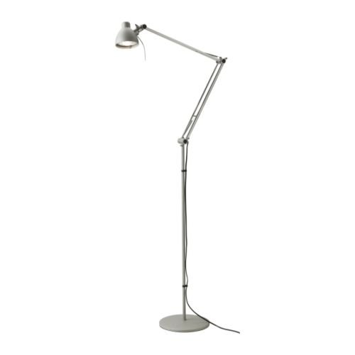 Special Offer Ikea S Antifoni Floor Reading Lamp Silver Color Top Floor Lamps Reviews