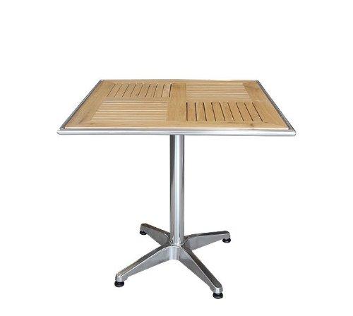 Garden Pleasure Tisch BISTRO, quadratisch, Aluminium