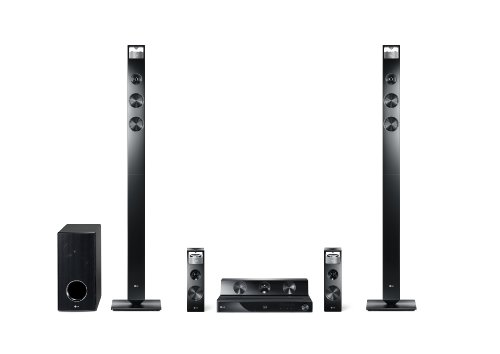 LG HX906PX 3D 9.1 Heimkinosystem (Smart TV, DLNA-zertifiziert, Apple iPod Dock) schwarz