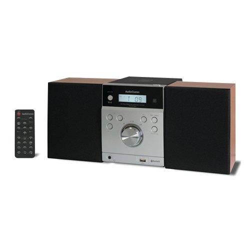 オーム電機 MCM-BT890N ブラック [Bluetooth搭載CDミニコンポ]