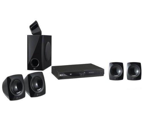 LG Heimkinosystem HT306SF + 2 Wandhalterung für Lautsprecher VLB 50A + HDMI-Kabel F3Y021BF2M - 2 m + USB-Stick DataTraveler 108 - 8 GB + SurgeStrip E-Series - Überspannungsschutz .
