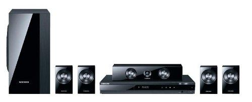 Samsung HT-D550 5.1 DVD-Heimkinosystem (HDMI, USB) perlschwarz