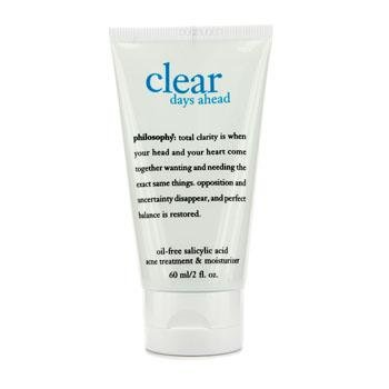 Philosophy Clear Days Ahead Oil-Free Salicylic Acid Acne Treatment and Moisturizer, 2 Ounce