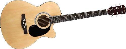 cheap fender fa135ce concert acoustic electric guitar natural acoustic guitars details. Black Bedroom Furniture Sets. Home Design Ideas