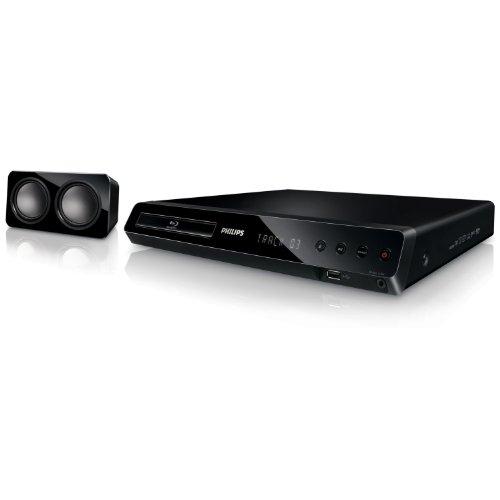 Philips HTS3563/12 5.1 3D-Blu Ray Heimkinosystem (HDMI, Upscaler 1080p, DivX-zertifiziert, Apple iPod-Anschluss, USB 2.0) schwarz