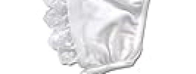Itty Bitty Baby White Eyelet Gingham Bonnet – Preemie