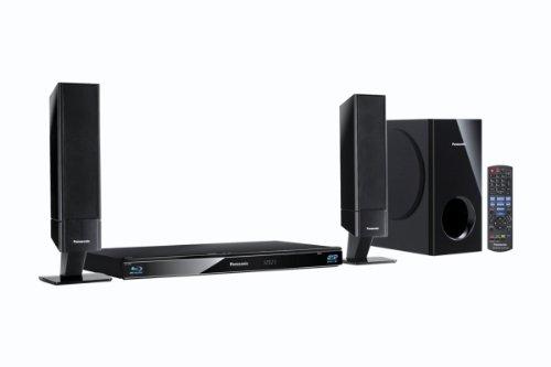 Panasonic SC-BTT262EGK 2.1 3D-Blu-ray Heimkinosystem (1 HDMI Ausgang, digitale iPod/iPhone Dock, SDXC, USB, 520 Watt) schwarz