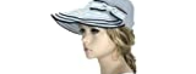 "Noonies Boutique The Casual Grey Sun Bonnet 12"" w/ 4"" Brim"