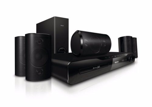 Philips HTS4561/12 5.1 Blu-Ray Heimkinosystem (HDMI, 1000 Watt, DivX-Ultra, USB 2.0)