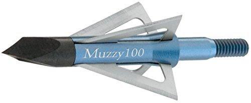 Muzzy 100 Grain 4 Screw In Blade (6-Pack)