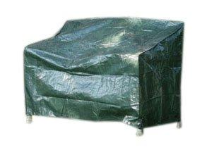 Videx 22132 PE- Schutzhaube für Gartenbank-3 Sitze-, grün