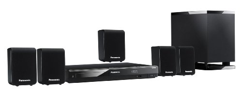 Panasonic SC-XH50EG-K DVD-Heimkinosystem (HDMI, Upscaler 1080p, 330 Watt, USB 2.0) schwarz