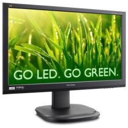 Viewsonic VG2436WM-LED 24-Inch (23.6-Inch Vis) Ergonomic LED Backlit Monitor with 1920x1080 Resolution - Black