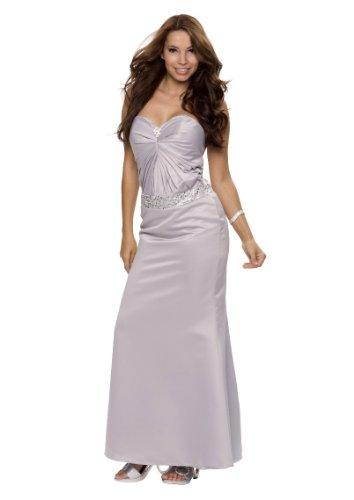 Astrapahl, Traumhaftes Abendkleid, lang, festlich, Farbe silbergrau