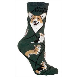 Corgi Cotton Ladies Socks