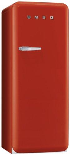 Smeg CVB20RR Standgefrierschrank / Rechtsanschlag / Nutzinhalt**** 170 Liter / rot