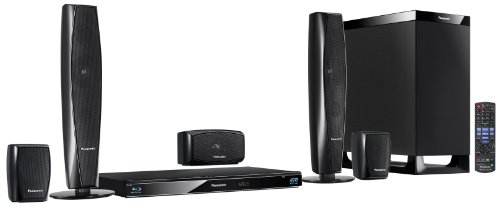 Panasonic SC-BTT370EGK 5.1 3D-Blu-ray Heimkinosystem (WLAN, 2 HDMI Eingänge, digitale iPod/iPhone Dock, SDXC, USB, 1000 Watt) schwarz