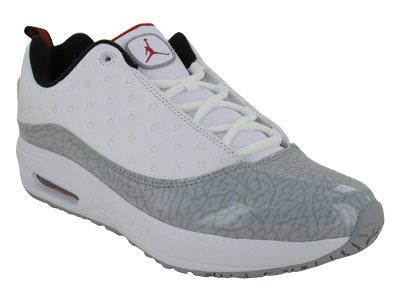 Buy NIKE JORDAN CMFT VIZ AIR 13 MENS 441367-110 (12, WHITE / VARSITY RED - WOLF GREY - BLACK)