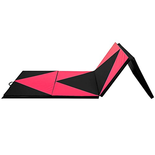 Giantex Thick Folding Panel Gymnastics Mat