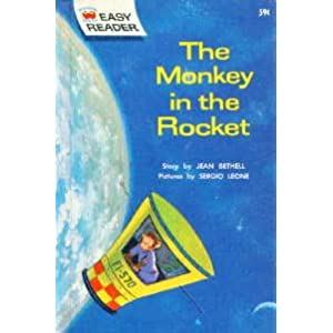 The Monkey in the Rocket: A Wonder Books Easy Reader