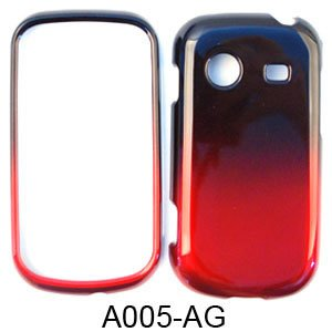SHINY HARD COVER CASE FOR SAMSUNG CHARACTER R640 TWO COLOR BLACK RED