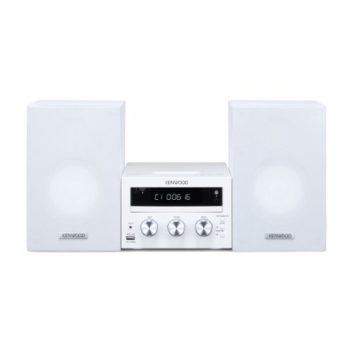 Kenwood M-616DV-W Kompaktes Heimkinosystem (DVD, Apple iPod-/iPhone-Dock, USB 2.0) weiß