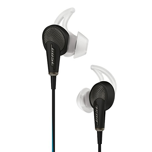 Bose QuietComfort 20 Acoustic Noise Cancelling Headphones, Apple Devices, Black