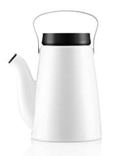 Eva Solo 567678 Madam Solo Coffee Pot, 1.2-Liter, White