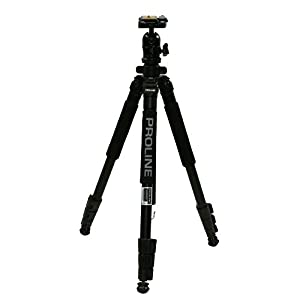 Amazon.com : Dolica 62-Inch Proline Tripod and Ball Head A great consumer level tripod with professional features and stability of higher end models, but at a very affordable price.