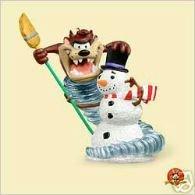 Hallmark Keepsake Christams Ornament - Looney Tones - Taz the Snowman Wizard