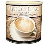 Mystic Chai Vanilla Tea, Total 2 Cans, 2 lb Each